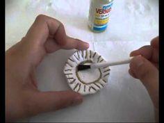 tutorial per creare un piattino di ceramica per bambole