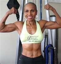 Ernestine Shepherd, 75 yrs old, such an inspiration!!