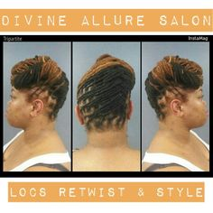 Today is a beautiful day !!!  Come to Divine Allure Salon where we specialize in locs, nail care, curls, braids, twists, coils, skin care, products, education, and etc.  To book an appointment visit our website at www.divinealluresalon.com or call the salon at (912)349-6604  #divinealluresalon