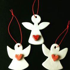 Hand made ceramics for Christmas /Özlem Menekay