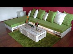 Sofa de pallet modelo 3 tutorial detalhado #DecorarMoveisCaseiros #PassoAPasso#DIY - YouTube