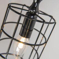 Kinkiet Frame C czarny #stylskandynawski #nowoczesnelampy #lampyindustrialne