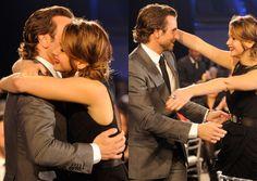 Bradley Cooper & Jennifer Lawrence..I love their little friendship!!