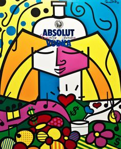 Romero Britto: Absolut Britto