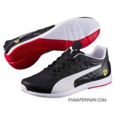 7c62a774db753 PUMA Ferrari EvoSPEED Trainers - Men Shoes - Black-Puma White-Rosso Corsa  TopDeals