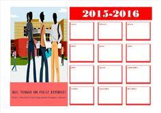Educando valores y emociones: Calendario 2015-2016