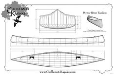 Mystic River Tandem Canoe Plans | Guillemot Kayaks - Small Wooden Boat Designs