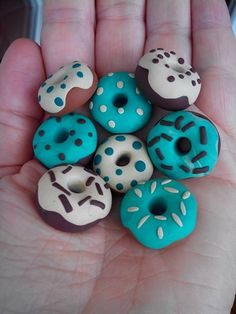 Fimo-Donuts