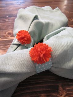 events uncorked: Party DIY {Spring Napkin Rings}