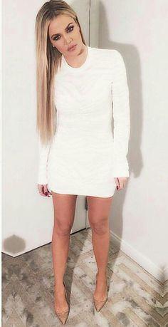 Khloe ❤️ Love it when Kylie wears white!