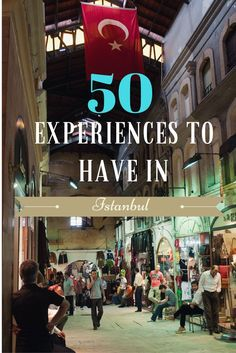 Think you've done it all in Istanbul? 50 experiences to try in the city. From food to culture to architecture. Activities for various budgets and interests.