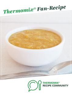 Apricot Chicken Puree (Baby Food 8  months) by Caroline Novinc. A Thermomix <sup>®</sup> recipe in the category Baby food on www.recipecommunity.com.au, the Thermomix <sup>®</sup> Community.