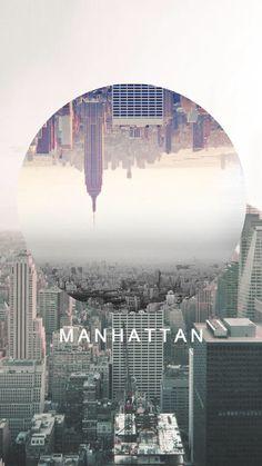 Manhattan iPhone Background