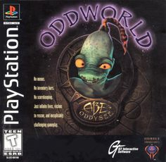 """Oddworld: Abe's Oddysee"" > 1997 > Playstation (PS1) > GT Interactive Software > Puzzle / Adventure Puzzle"