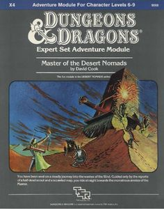 Swords & Stitchery - Old Time Sewing & Table Top Rpg Blog: Retro Review X4 Master Of The Desert Nomads For Expert Dungeons & Dragons & Your Old School Campaigns