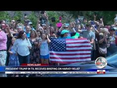 WOW! #FakeNews Media Refuses to Show MASSIVE CROWD OF SCREAMING SUPPORTERS Greeting Trumps in Texas (MUST SEE VIDEO)