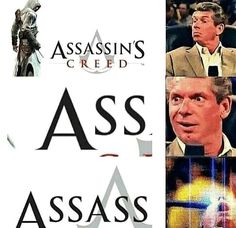 I always laugh when I search Assassination Classroom because it says assass lol Video Games Funny, Funny Games, Best Memes, Dankest Memes, Stupid Funny, Hilarious, Funny Stuff, Asesins Creed, Gaming Memes