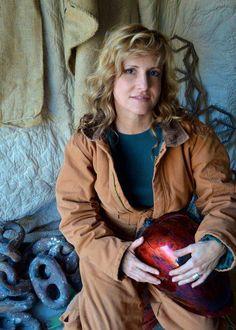 Birmingham metal artist Catherine Partain