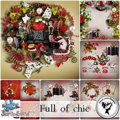 Full of chic - Full pack by Black Lady Designs