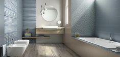 Obklady Lace od Supergres v modrém provedení vám vytvoří elegantní a minimalistickou koupelnu. Pro milovníky moderního designu je to srdeční záležitost.