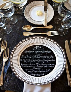 Decor Edition, 15 Gorgeous Place Settings