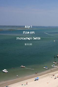 Any 5 Fine Art Photograph Notecards for 10 by WritingPlaces, $10.00