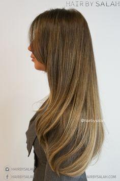 Seamless Soft Gold Blonde Balayage from Hair by Salah - Lived in Color Team.  #hair #haircolor #haircolour #goldblonde #balayage #blonde #summerhair #longhair #hairstyles #hairstyle #hairoftheday #hairbysalah #highlights #haircare #hairtreatment #beautifulhair #nicehair #dubai #dxb #abudhabi #saudi #saudiarabia #beauty