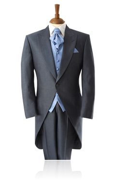 Silver Lake Blue Mohair Morning Suit