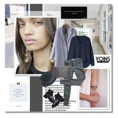 """Tweed coat - Yoins.com"" by undici ❤ liked on Polyvore featuring moda, Borsalino, Current/Elliott, women's clothing, women, female, woman, misses ve juniors"