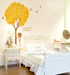 Memory With The Tree Wall Stickers