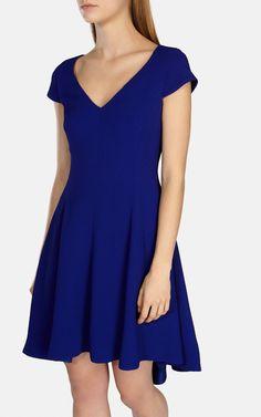 Fluid texture draped dress   Karen Millen €225