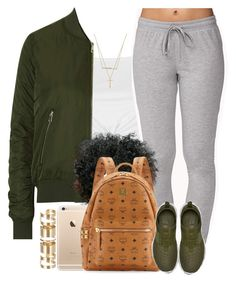 """""""I clearly live for Olive Green """" by livelifefreelyy ❤ liked on Polyvore featuring Topshop, Forever 21, NIKE, MCM, Gucci, Atmos&Here and ZoÃ« Chicco"""