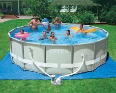 16' Ultra Frame Intex Swimming Pool