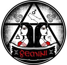 Gemini by Van Burmann #gemini #zodiac #astrology
