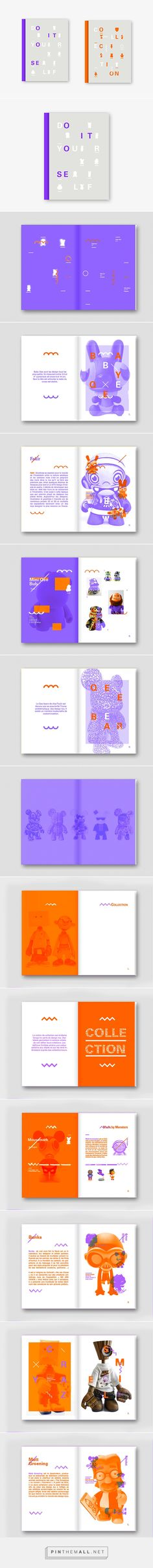 Design Toy - Exhibition Catalogue on Behance - created via http://pinthemall.net