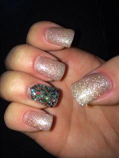 Christmas nails ❤️