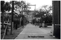 Solomon's Temple & its Seven Veils (Titled) (Black & White)