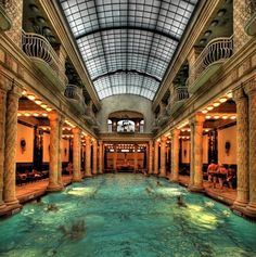 Gellet Baths, Budapest