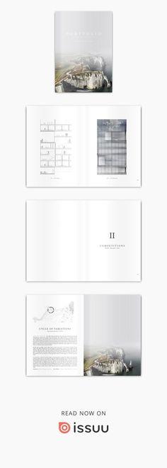 12 Architecture School Portfolio Tips Portfolio Design Layouts, Layout Design, Indesign Portfolio, Portfolio Ideas, Chart Design, Web Design, Logo Design, Architecture Panel, Architecture Design