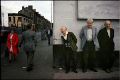 Raymond Depardon, Glasgow, Scotland, 1980. Near the Gushett on Shettleston road.