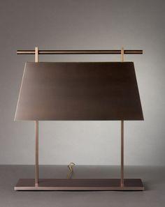 Nicolas Aubagnac is an interior designer who also creates contemporary furniture and lighting. Lamp Light, Table Lamp Lighting, Floor Lamp, Interior Lighting, Modern Floor Lamps, Light Fixtures, Modern Lamp Design, Modern Lamp, Light Fittings