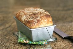 How to Make No-Knead Loaf Bread http://southernfood.about.com/od/yeastbreads/fl/How-to-Make-No-Knead-Loaf-Bread.htm