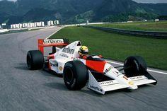 F1 Pictures — Ayrton Senna McLaren - Honda 1989