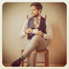 GENTLEMAN COFFEE STYLE @bcnpreppy