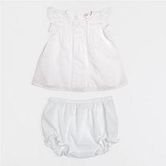 Conjunto Bebé Rendas Peça Superior - Bebé - Homewear | Zara Home Portugal