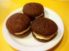 Vegan Whoopie Pies - these came out really yummy! I made half of them with peanut butter frosting.