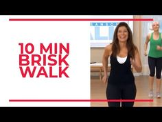 This is a FAST and BRISK ten minute brisk walk! It's SO HEALTHY to walk at a fat-burning pace! Workout from Mix and Match Walk Blasters. Leg Day Workouts, Easy Workouts, Elliptical Workouts, Gym Workout For Beginners, Workout Videos, Exercise Videos, At Home Workout Plan, At Home Workouts, Workout Plan For Women