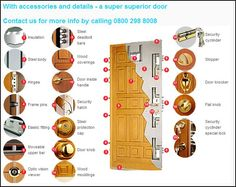 Diagram of a steel security door Diagram of a steel security door Steel Security Doors, Inside Doors, Door Detail, Home Protection, Wood Steel, Plantation Homes, Home Safety, Camping Survival, Home Security Systems