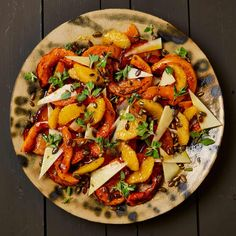 Yotam Ottolenghi's recipes for butternut squash. The sweet autumnal favourite roasted with orange and honey, baked in a pie with feta and sage, or fashioned into fritters with a five-spice sugar – The Guardian Yotam Ottolenghi, Ottolenghi Recipes, Squash Fritters, Vegetable Sides, Squash Food, Butternut Squash, Vegetarian Recipes, Meze Recipes, Recipies