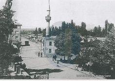 1965 Abdibey camii ve Osmancık caddesi